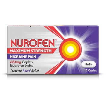 Nurofen Maximum Strength Migraine Pain