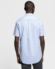 GANT THE BROADCLOTH 3COL SHORT SLEEVE
