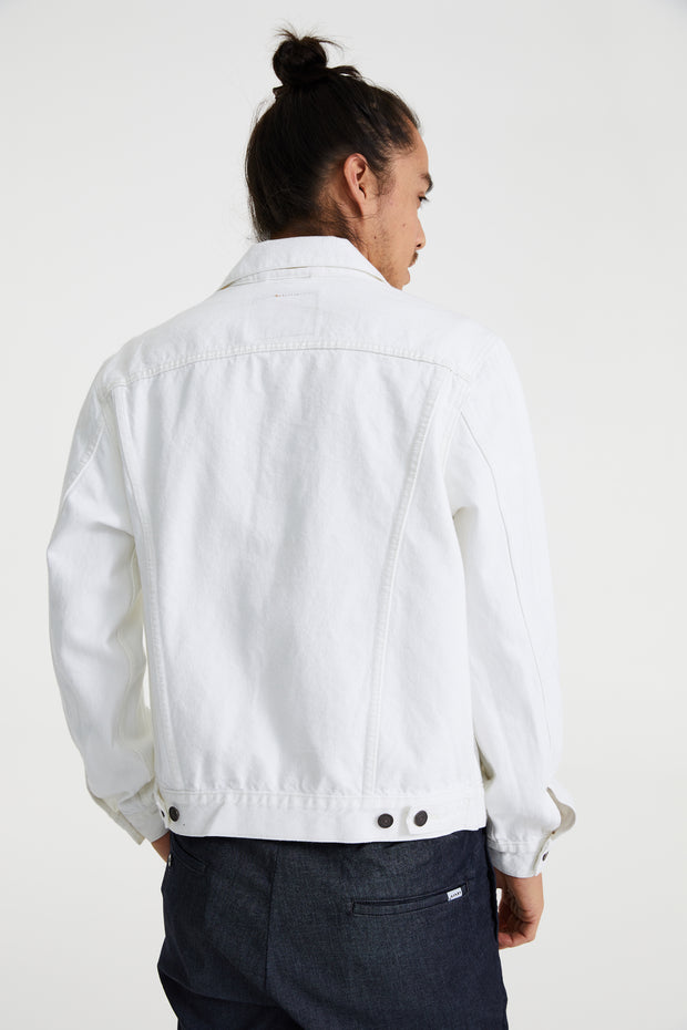 LEVI'S VINTAGE FIT TRUCKER WHITE OUT