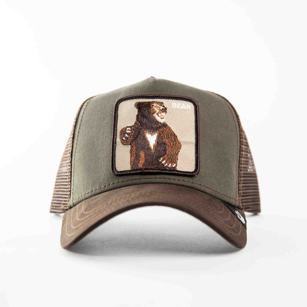 GOORIN BEAR ANIMAL TRUCKER