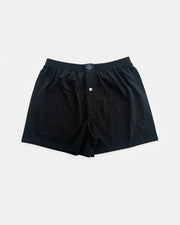 Coast Clothing Knit Boxer Short Black