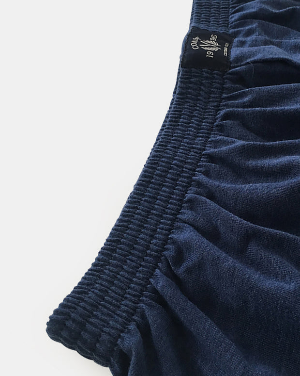 Coast Clothing Knit Boxer Short  Navy