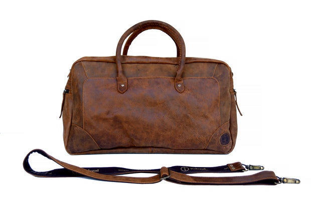 Indepal Leather Classic Duffle Bag Dusty Antique