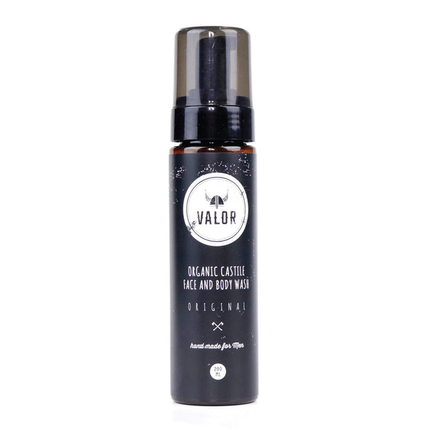 VALOR ORIGINAL CASTILE FACE & BODY WASH