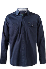 FXD LSH1 LONG SLEEVE SHIRT NAVY