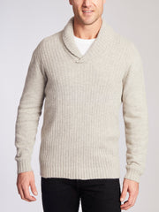 voss store Avalon merino snug merino wool merricks shawl neck jumper quartz