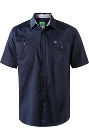 FXD SSH1 SHORT SLEEVE SHIRT NAVY
