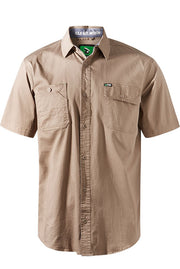 FXD SSH1 SHORT SLEEVE SHIRT KHAKI