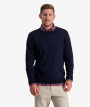 SWANNDRI BELT ROAD CREW NECK MERINO KNIT