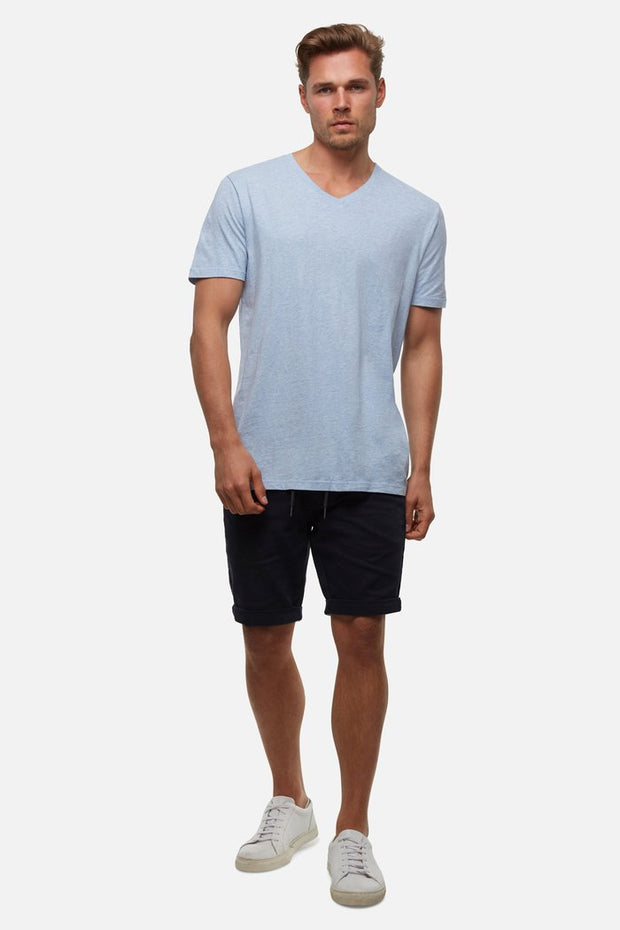 Industrie the new basic vee tee blue marle