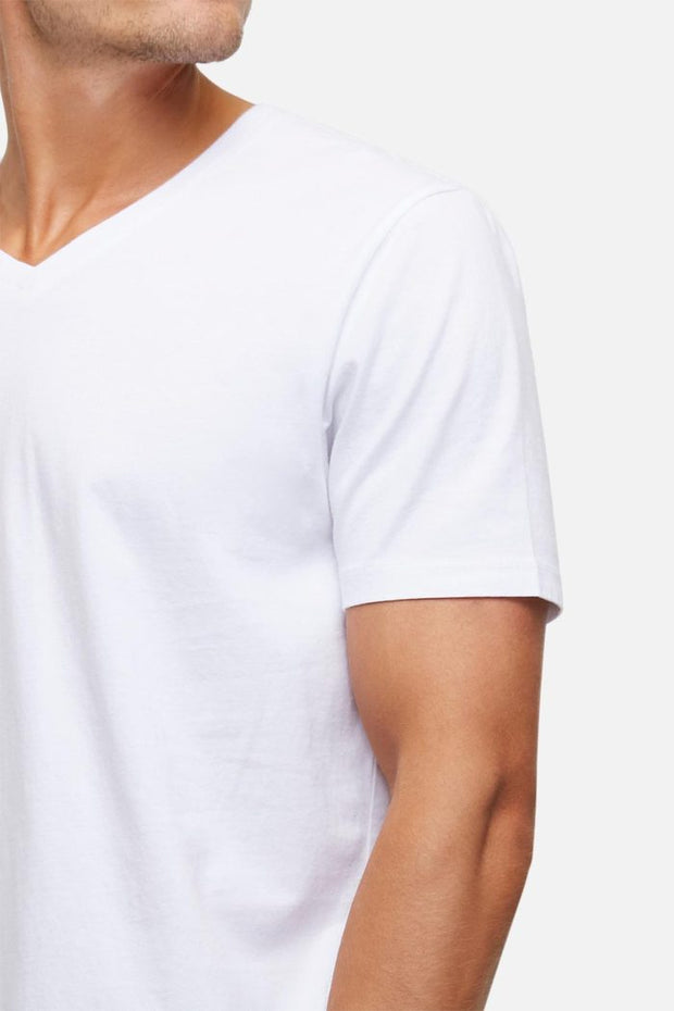 Industrie the new basic vee tee white