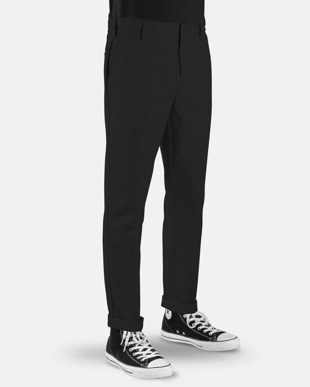 voss store menswear and workwear Sydney DICKIES WE872 SLIM TAPERED PANT BLACK