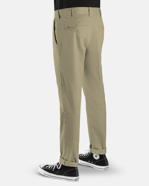 DICKIES WE872 SLIM TAPERED PANT KHAKI