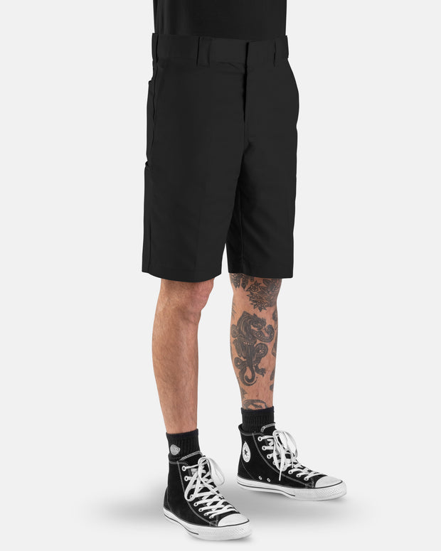 voss store menswear and workwear Sydney DICKIES WR852 MECHANICAL WORK SHORT BLACK