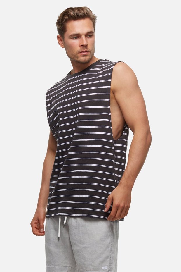 INDUSTRIE COLOMBIAN SLEEVELESS TEE