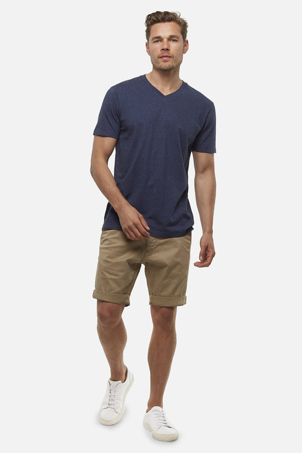 industries washed Cuba chino short cinnamon