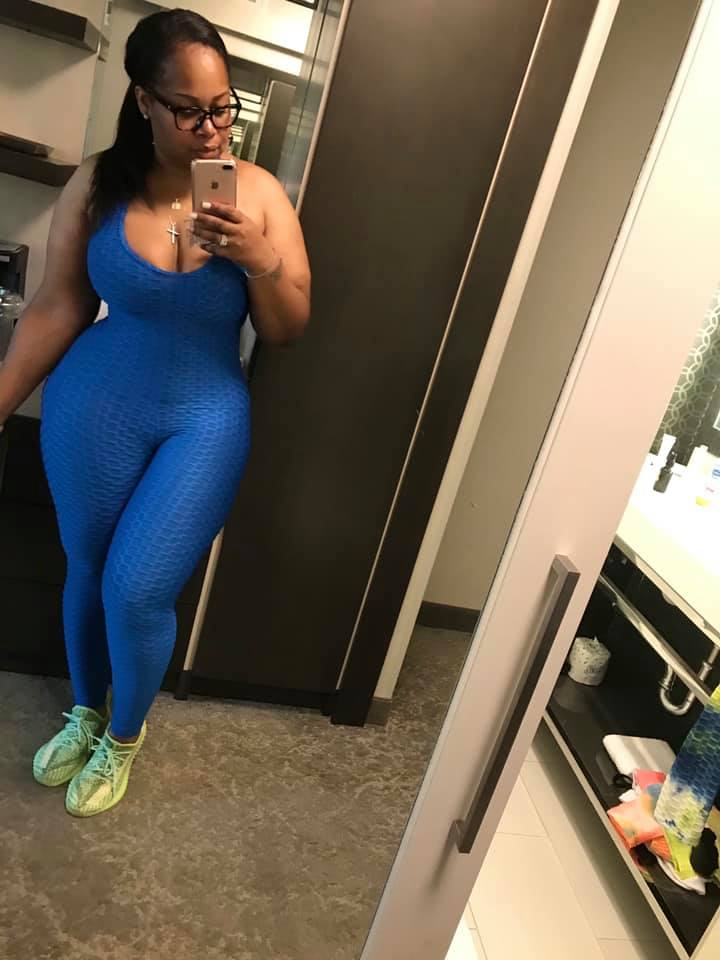 Giving the Blues Super Stretch Jumpsuit