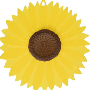 "Sunflower 6"" Silicone Lid"