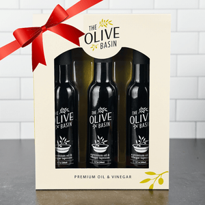 Custom Oil & Balsamic 3-Bottle Gift Box