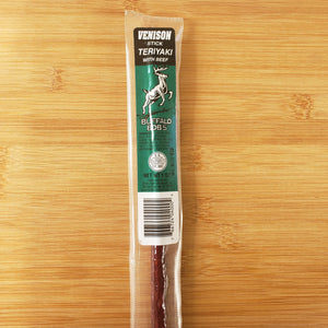 Venison and Beef Teriyaki Jerky Stick