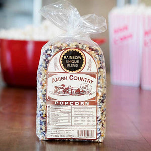 Amish Country Rainbow Unique Popcorn Kernels