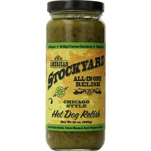 Chicago Style Hot Dog Relish