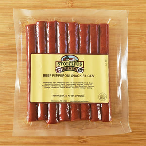 Beef Pepperoni Snack Sticks