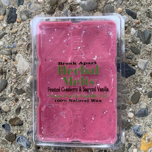 Frosted Cranberry & Sugared Vanilla Soy Wax Melts