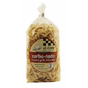Carba-Nada Roasted Garlic Fettuccine