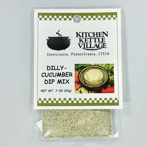 Dilly Cucumber Dip Mix