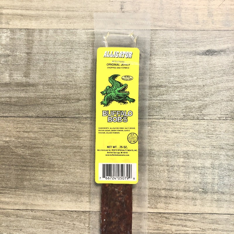 Alligator Jerky Strip