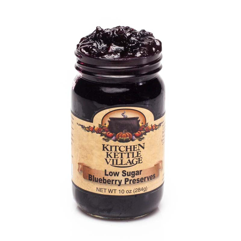 Low Sugar Blueberry Preserves
