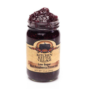 Low Sugar Red Raspberry Preserves