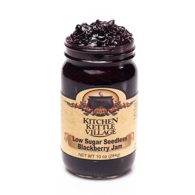 Low Sugar Seedless Blackberry Jam