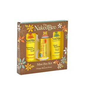 Naked Bee Orange Blossom Honey Mini Kit