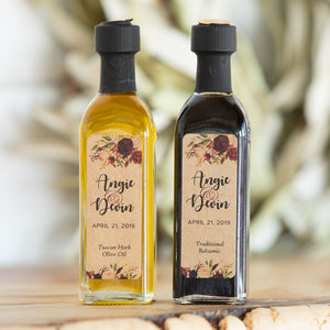 Custom Balsamic Vinegar Event Favors