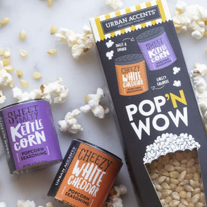 Pop'n Wow - Carnival Classics Popcorn & Seasoning Set
