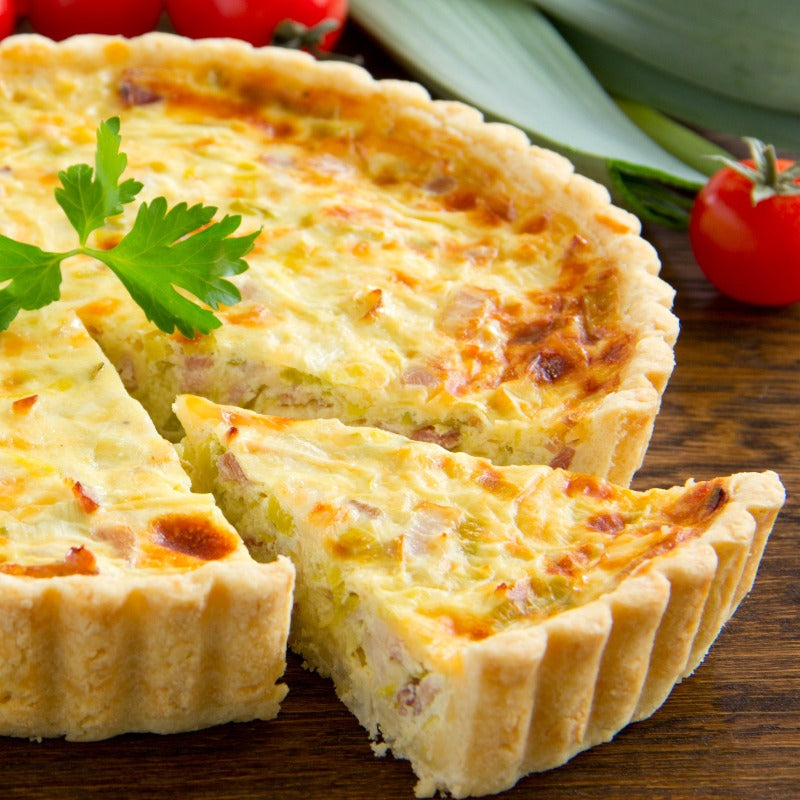 Four Cheese Quiche 10""