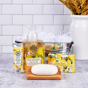 Lemon Basil Bath & Body Gift Tub