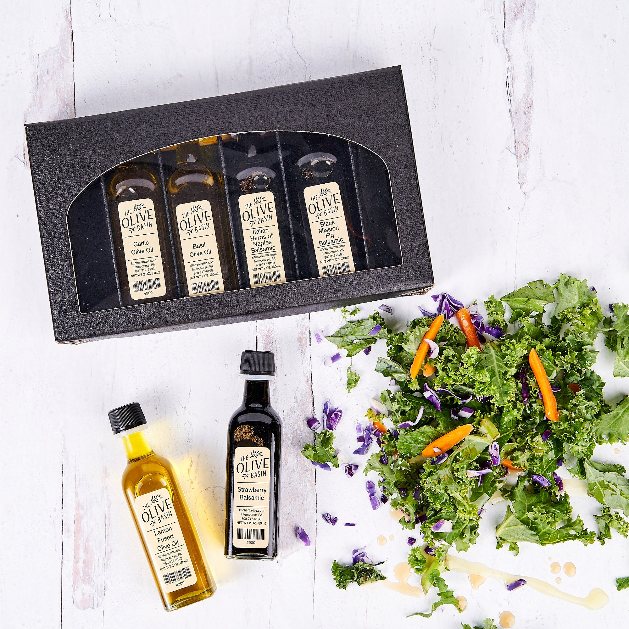 The Oil & Vinegar Salad & Vegetable Collection