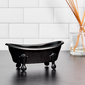 Bath Tub Soap Dish - Black
