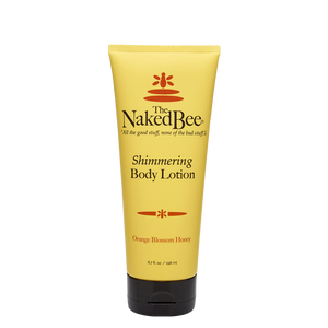 Naked Bee Orange Blossom Honey Shimmering Body Lotion