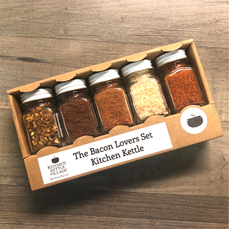 Bacon Lovers Gift Set- Exclusive Seasoning Collection