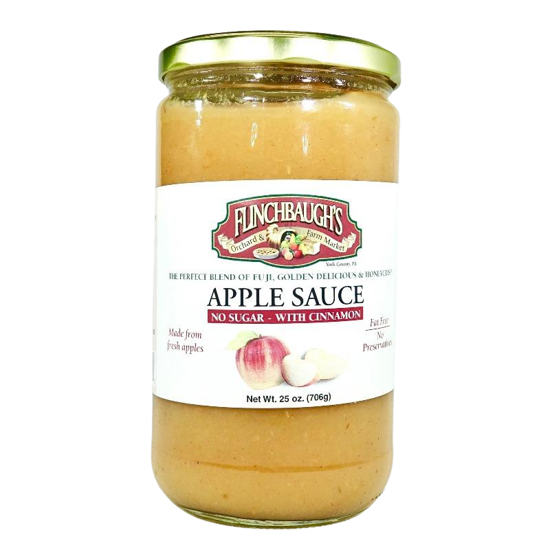 Applesauce - No Sugar Added Cinnamon