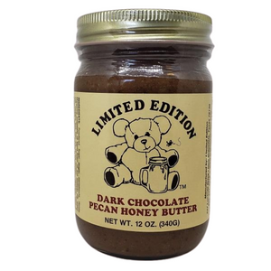 Dark Chocolate Pecan Honey Butter