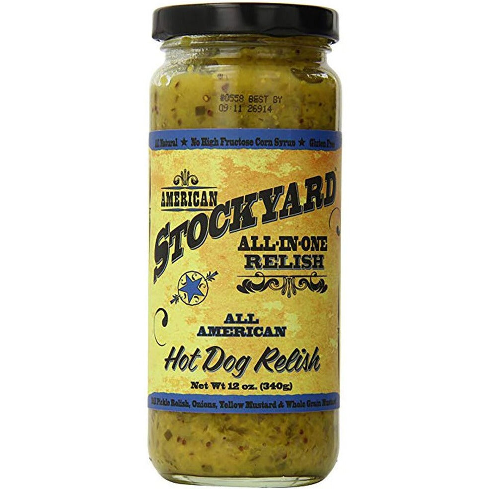 All American Hot Dog Relish