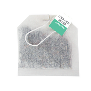 """Cold & Flu Buster"" Bathtub Tea Bag"