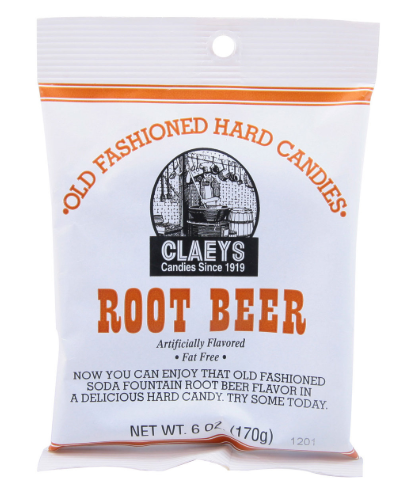 Root Beer Old Fashioned Hard Candies