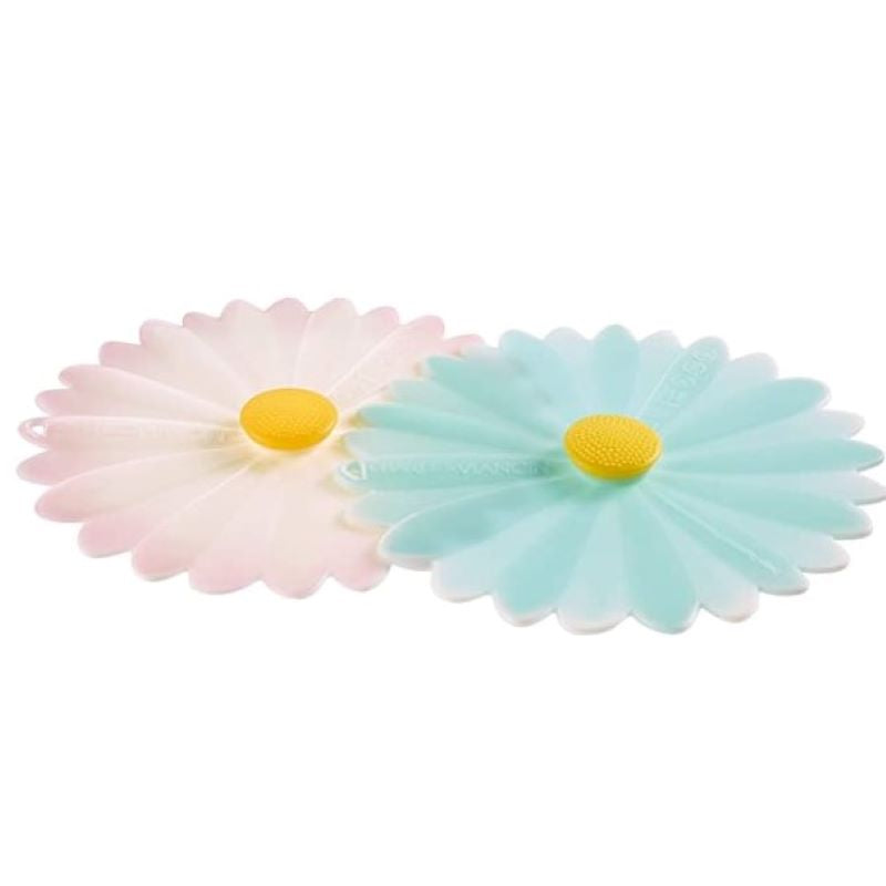 Daisy Silicone Drink Covers - Set of 2