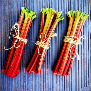 Fresh, Local Rhubarb - 1 LB